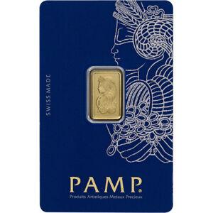 2-5-gram-Gold-Bar-PAMP-Suisse-Fortuna-999-9-Fine-in-Sealed-Assay