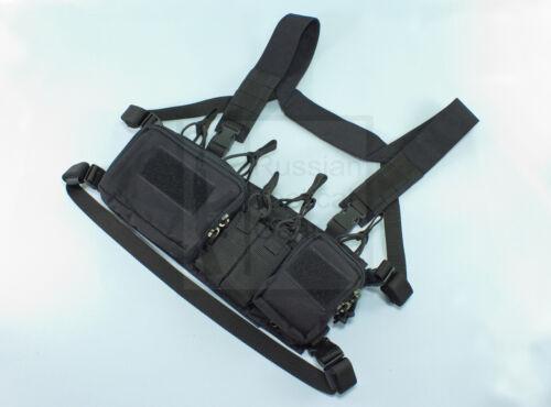 MBC Russian D3CR-H Heavy Tactical Chest Rig Black