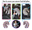 Seat Belt Car Travel Pillow and Plush Animal Toy Head /& Neck Support
