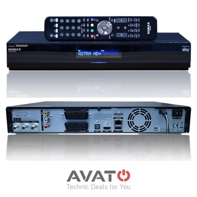 Humax iCord HD 250GB HDD Festplatte DVB-S2 PVR Satelliten Receiver Satreceiver