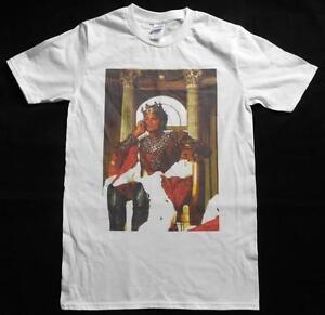 a6bfe7a9f2cb Michael Jackson King of Pop White T-Shirt Size S-XXXL Supreme ...