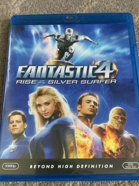 The Fantastic Four: Rise of the Silver Surfer (Blu-ray Disc, 2009)