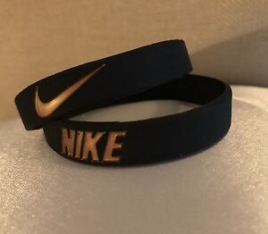 Image Is Loading Nike Black Rose Gold Kobe Baller Band Rubber