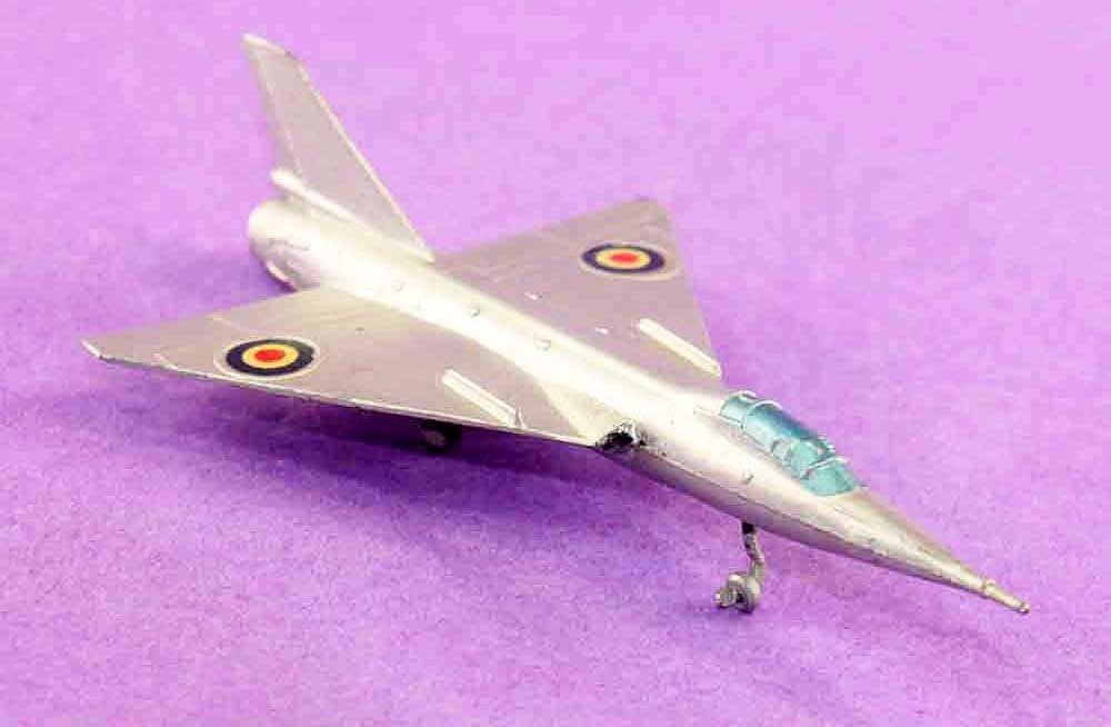 Avion SOLIDO FAIREY DELTA / plane jouet ancien plane / 340af6