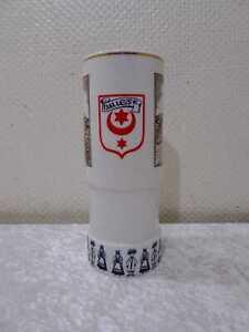 DDR-Design-Andenken-Porzellan-Vase-Vintage-034-Uberreicht-vom-Oberbuergermeister-034
