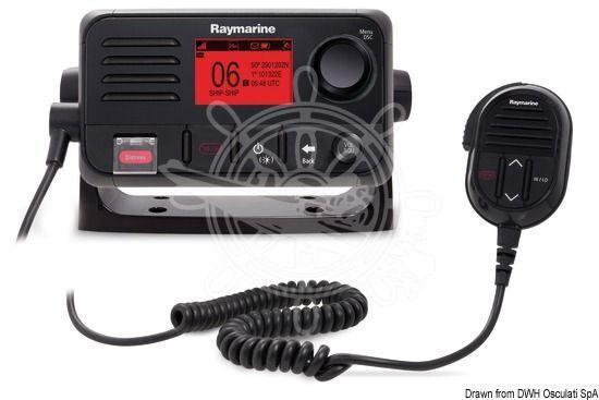 OSCULATI OSCULATI OSCULATI Raymarine VHF-Funkgerät GPS integriert 1d3116