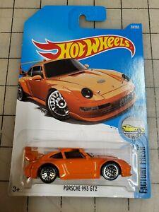 Hot Wheels Porsche 993 GT2 Orange Factory Fresh