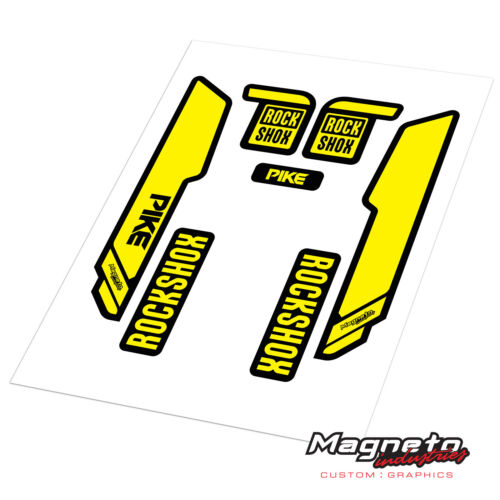 Rock Shox Pike 2015 Reproduction Fork Decals