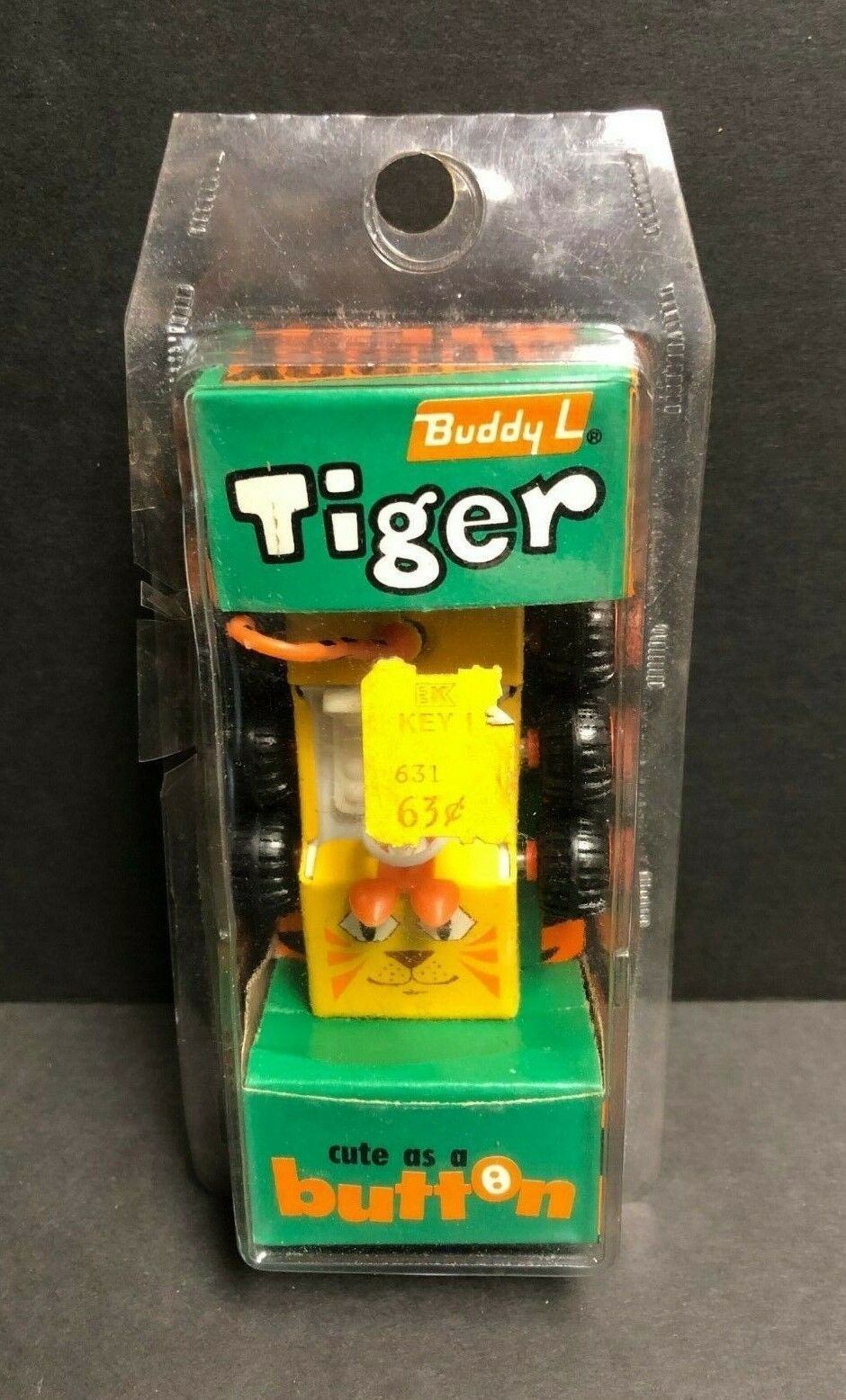 Vintage ultra rare Buddy L boutons Tiger 4101 new in original Factory Emballage