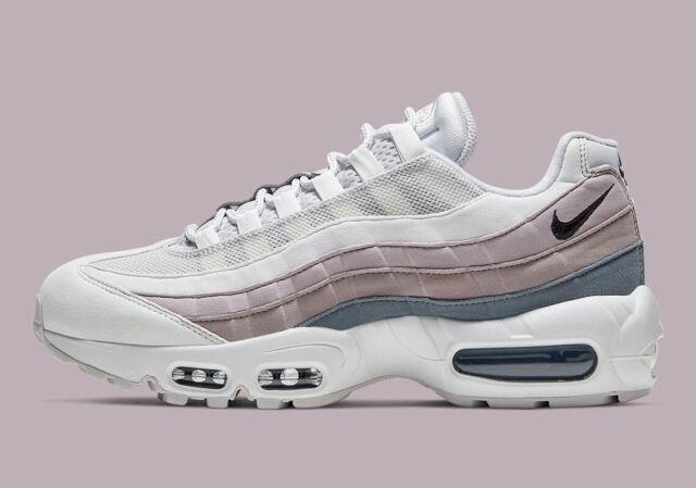 Nike Air Max 95 Vast Grey/oil Grey 307960-022 Womens Size 10