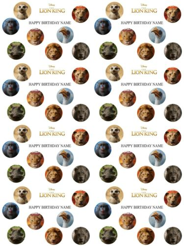 The Lion King Personalised Birthday Wrapping Paper ADD NAME CHOOSE BACKGROUND