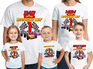 Image Is Loading Mickey And The Roadster Racers Birthday Shirt Personalized