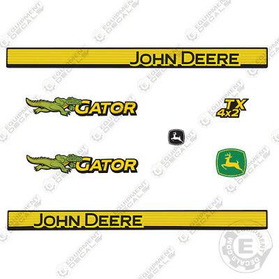 John Deere Gator Decal Kit Utility Vehicle Gator Decals 1999-3M Vinyl!