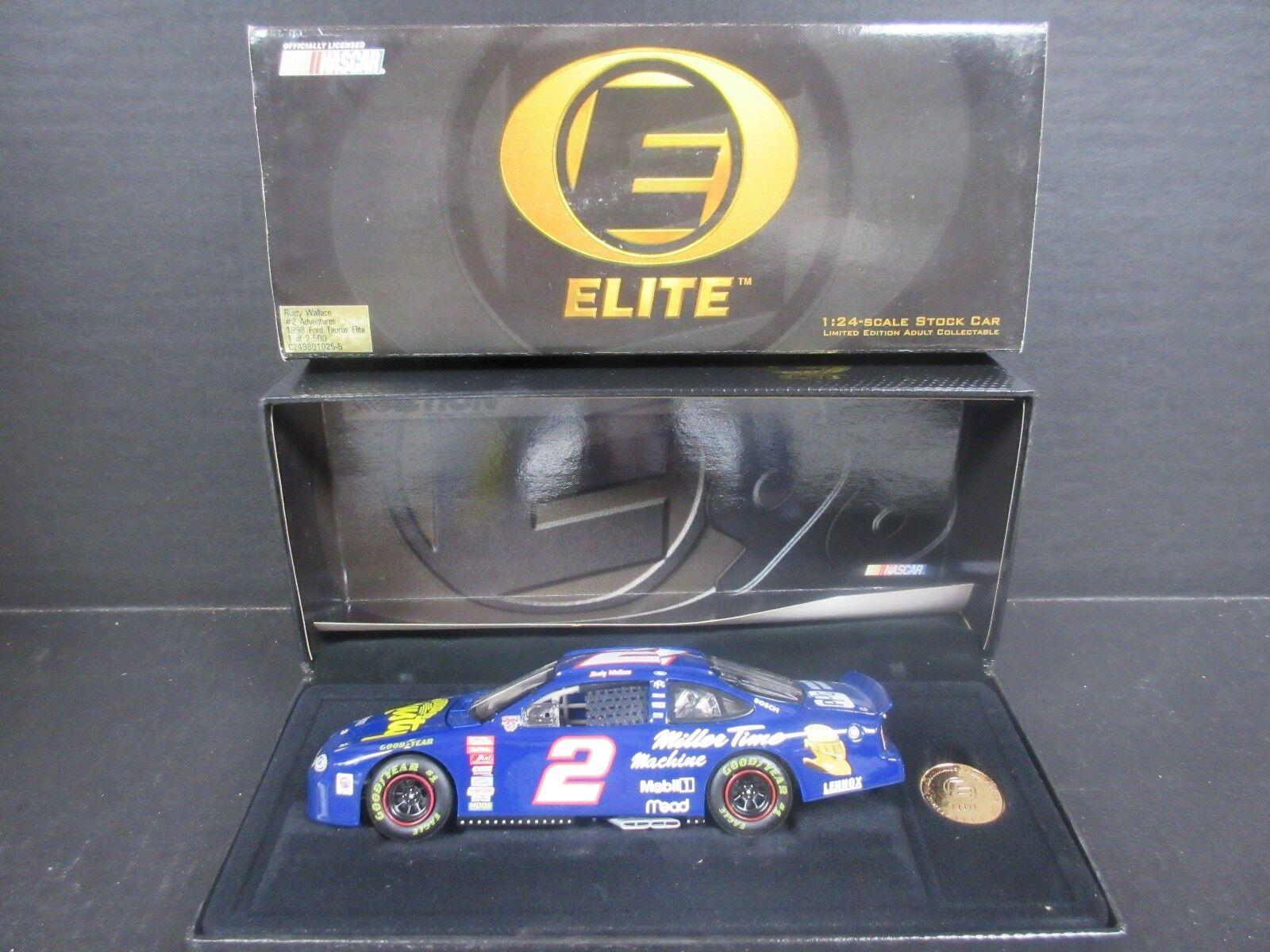 1998 Acción Elite -- Rusty Wallace -- aventuras -- escala 1 24th