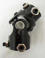 """1""""-48 Spline X 3/4"""" DD BLACK Universal Steering Box U Joint U-Joint NEW"""