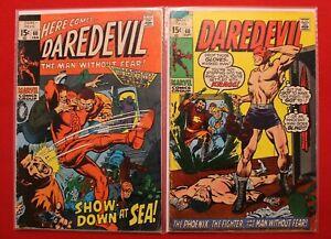 Marvel-Comics-Daredevil-Vol-1-Issue-60-amp-68-Gene-Colan-Stan-Lee-Roy-Thomas-1970
