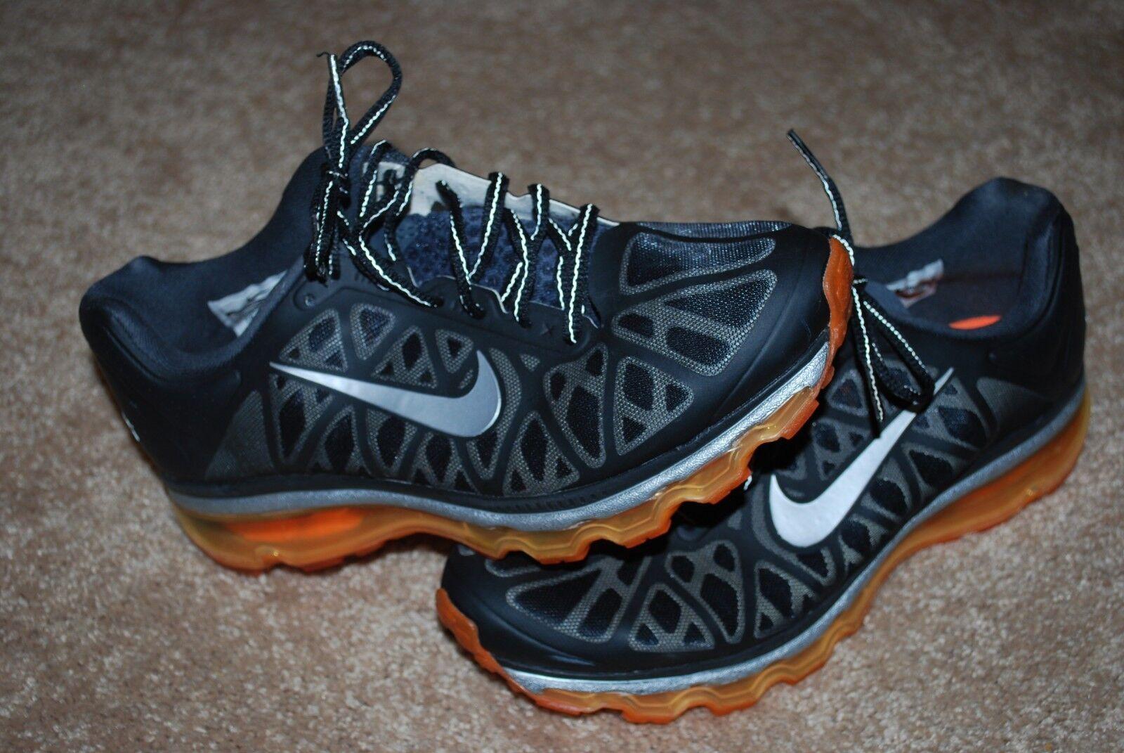 Le nike air max 2011 totale arancione / nero / scarpe grigio in scarpe / da ginnastica (8, 7y) 3f070a
