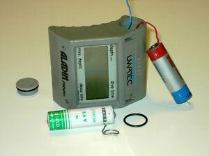 Tauchcomputer batterie scubapro uwatec aladin pro aladin - Uwatec aladin air x dive computer ...