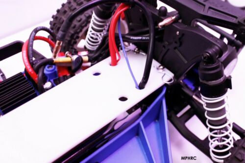 """MPHRC Upper Chassis Brace /""""Pin Pull/"""" Fits Traxxas Slash 2WD LCG Chassis"""
