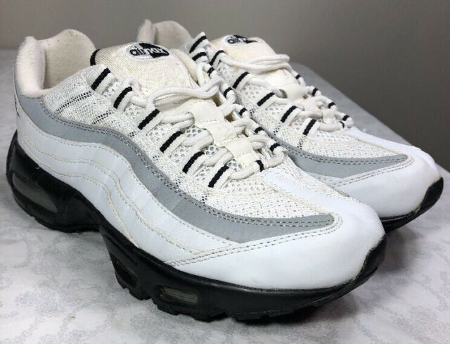 2004 Nike Air Max 95 Running Men's 10 OG Trainer Black White Tuned 1 90 97 Plus