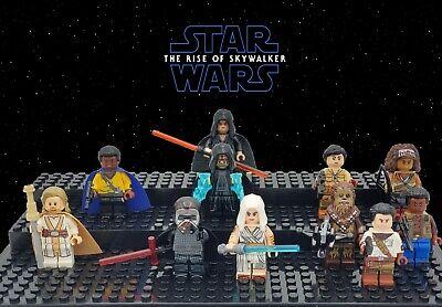 Star Wars Rise Of Skywalker 10 Minifigure Bonus Dark Rey Set Usa Seller Ebay