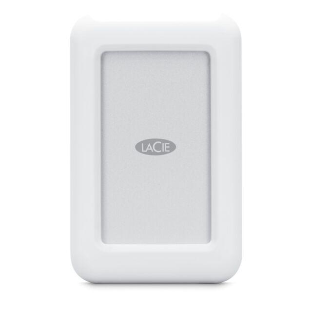 New Lacie Rugged Mini White Usb C Mobile 1tb Portable External Hard Drive Mac