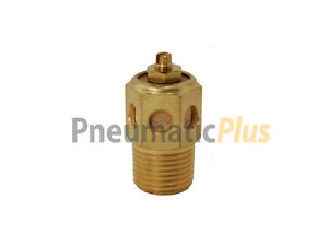 "Sintered Bronze Speed Control Muffler 3//4/"" NPT Package of 1"