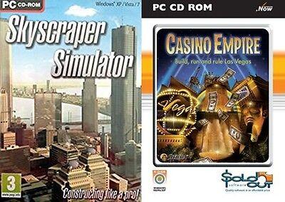Skyscraper Simulator sky scraper & casino empire new&sealed | eBay