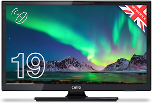 Cello ZSO291 19″ Digital LED TV with Freeview and Built In Satellite Tuner ,