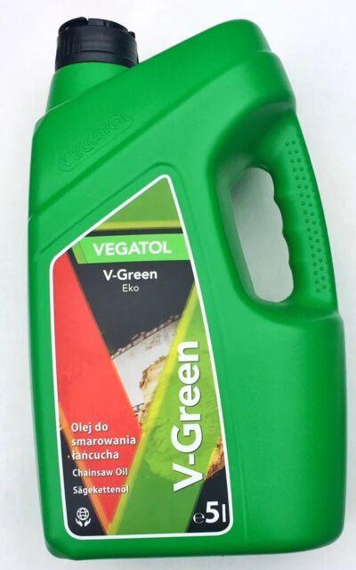 VEGATOL V-Green Eko Chainsaw Chain High Biodegradable Mineral Oil 5L (STIHL etc)