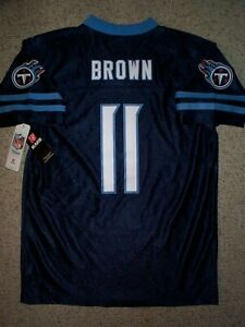 2020-2021-Tennessee-Titans-A-J-BROWN-nfl-Jersey-YOUTH-KIDS-BOYS-CHILDRENS-xl