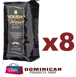 8-pound-CAFE-Santo-Domingo-induban-gourmet-roasted-whole-bean-coffee-100-EUROPE