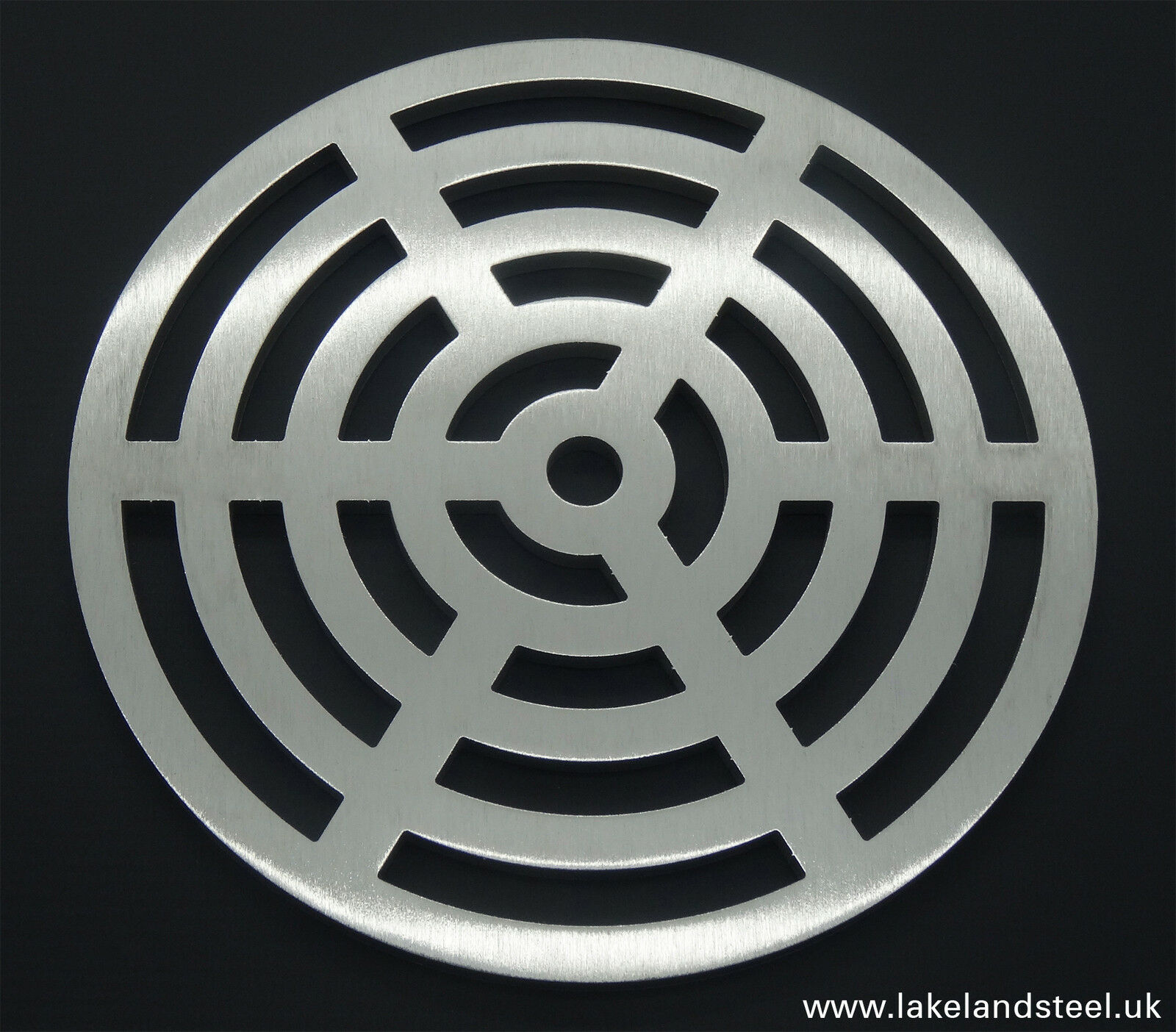 290mm 29cm Round Stainless steel metal heavy duty drain cover gully grid grate