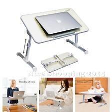 Portable Laptop Mini Desk Table Bed Tray Adjustable Angle Folding Work Station