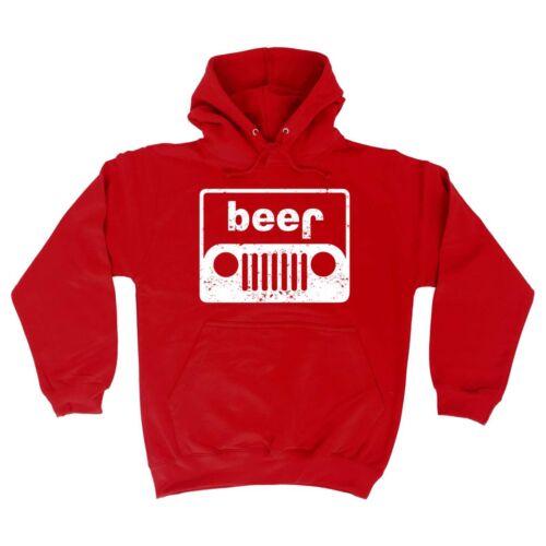 Beer Car Funny Joke Car Truck Auto Off Road 4x4 Mechanic Drinking HOODIE