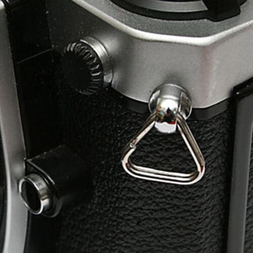 un Par Hr Correa De Cámara Lug Anillo Para Réflex Digital SLR de RF sin Espejo