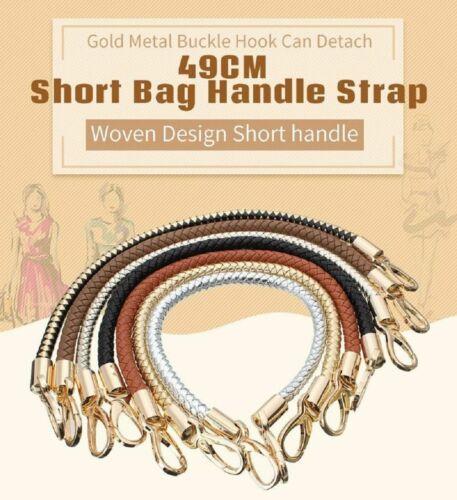 Handbag Strap 49cm Detachable Replacement Short Handle Shoulder Bags Accessories