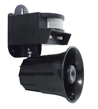 Vogelvertreiber LSW-2001 Birdchaser Vogel Alarm Schreck Abwehr Schall PIR Sensor