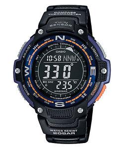 NUEVO-CASIO-SGW-100-2BER-034-PANTALLA-NEGRA-BRUJULA-Y-TERMoMETRO-WR-200-M-034