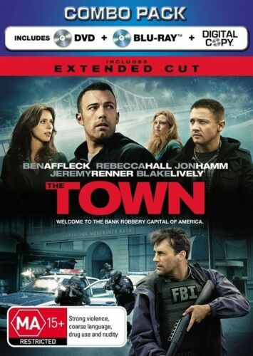 1 of 1 - The Town (Blu-ray, 2011, 2-Disc Set), NEW SEALED AUSTRALIAN