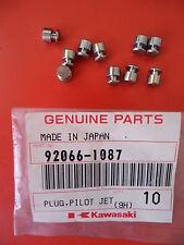 OEM KAWASAKI Plug, Pilot Jet Part #92066-1087 for Police KZ1000 P15-P24 (96-05)
