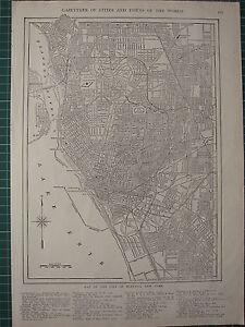 Carte Ville Buffalo.Cartes 1926 Carte Buffalo Ville Plan New York Brise Lames