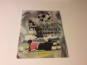ALBUM-PANINI-CALCIATORI-CHAMPIONS-LEAGUE-2000-2001-COMPLETO-ORIGINALE