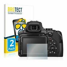 2x Nikon Coolpix L810 screen protector protection guard anti glare