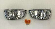 4X LED MINI CARBON TURN SIGNAL CATEYE TRIUMPH Tiger 1050,Daytona 1000,Sprint ST