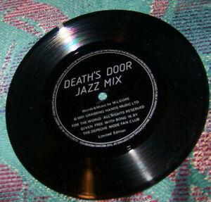 Rare-Limited-Depeche-Mode-7-034-Flexi-Record-Death-039-s-Door-Jazz-Mix-1991-Insert