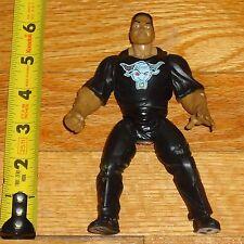 1998 WWF WWE Jakks The Rock Dwayne Johnson Wrestling Figure Brahma Bull Shirt