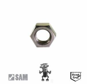 10 Stück Hutmuttern DIN 1587 PA M8 Polyamid natur Sechskant Kunststoff