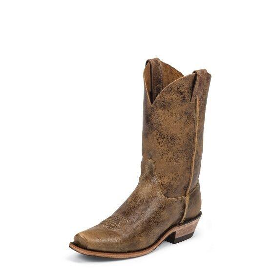 JUSTIN MENS BENT RAIL COWBOY BOOTS! BR733- TAN ROAD! NIB-SALE SALE SALE