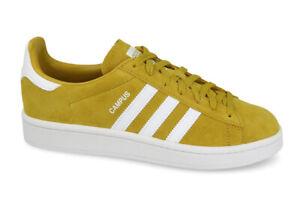 Détails sur Adidas Chaussures Originals Campus CM8444 Femme Homme Unisexe  Jaune Moutarde